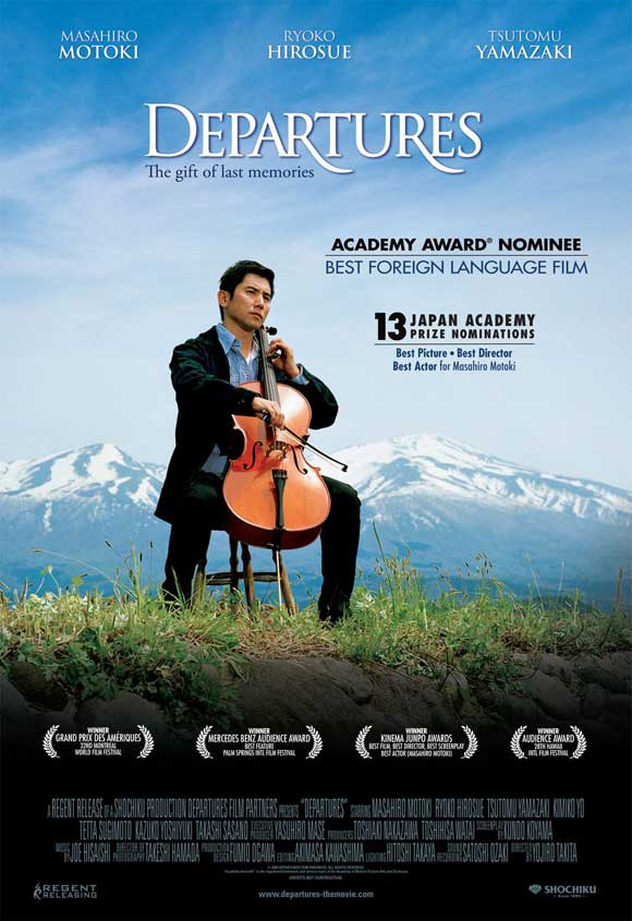 DEPARTURES Japanese Movie