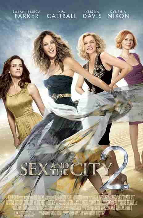 SEX AND THE CITY 2 Movie Preview. SEX a la ARABIAN NIGHTS?