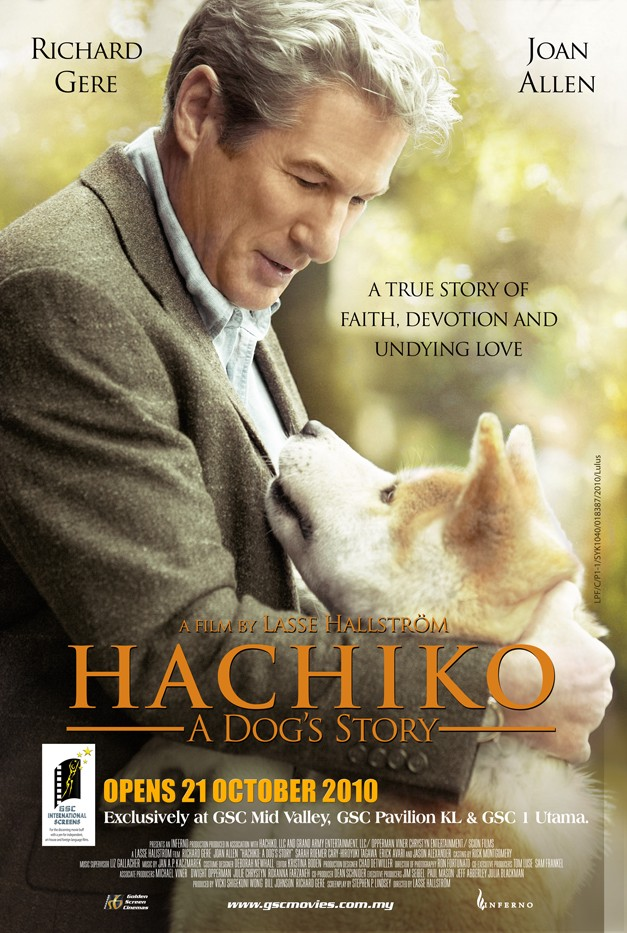 HACHIKO: A DOG's Story MOVIE Review. HE's your FRIEND ...