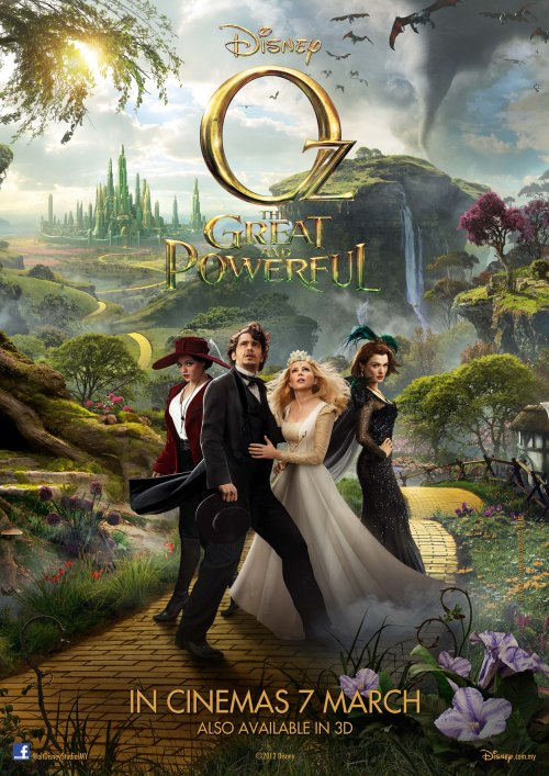 OZ THE GREAT AND POWERFUL MALAYSIAN POSTER