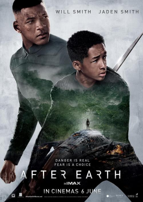 AFTER EARTH ONLINE POSTER
