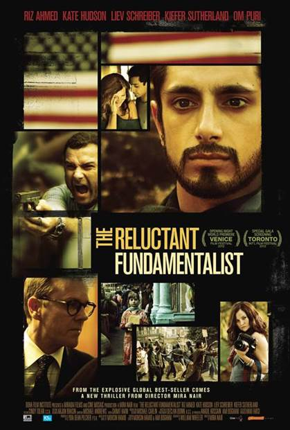THE RELUCTANT FUNDAMENTALIST ONLINE POSTER