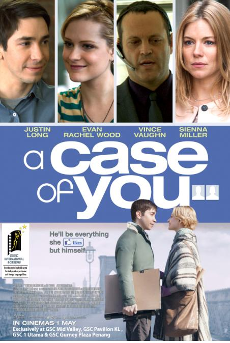 A Case Of U poster