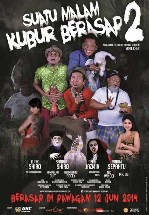 malay ghost movie poster