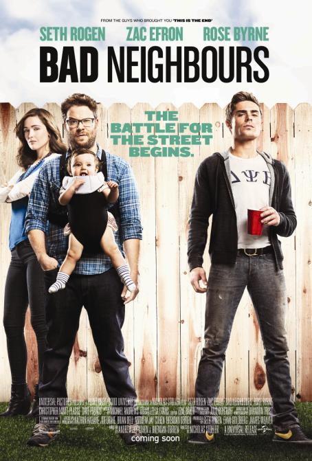 bad neighbour poster