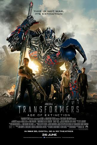 TRANSFORMERS UPDATED POSTER