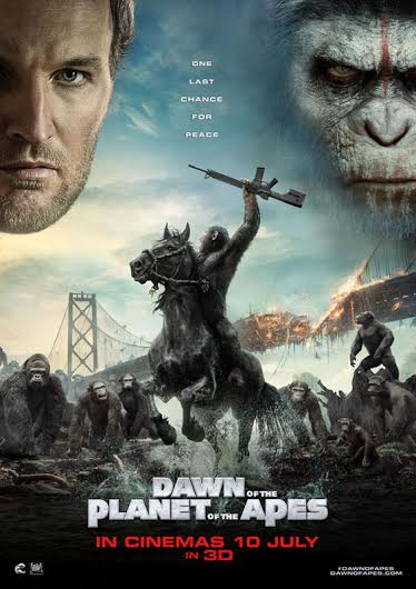 PLANET OF THE APES 2014 POSTER