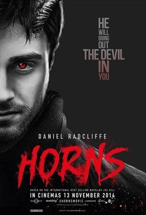 "Really Kool: MOVIE REVIEW: ""HORNS"" (2014) Horns Movie Poster"