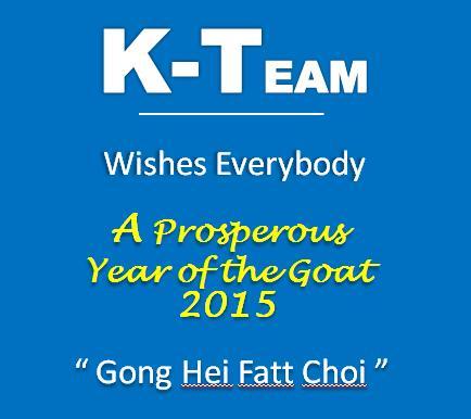 KTEAM CNY 2015