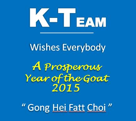 KTEAM CNY 2015