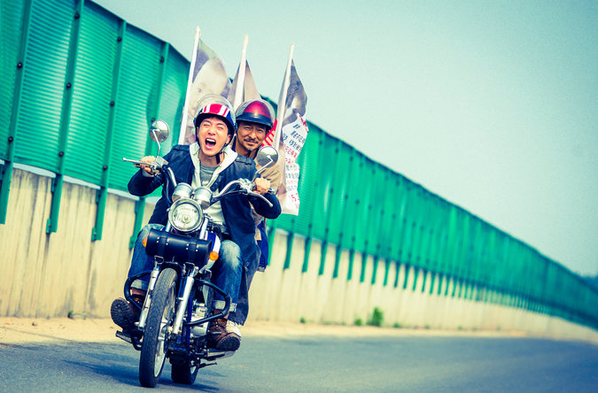 ANDY LAU MOTORBIKE PICTURE